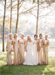 black and white wedding bridesmaid dresses 2016 wedding trends sequined and metallic bridesmaid dresses