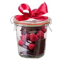 real chocolate from real raspberry and dark chocolate in a