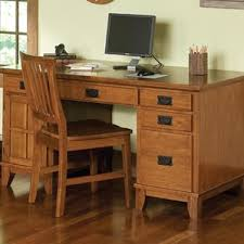 Oak Computer Desk With Hutch by Oak Desks You U0027ll Love Wayfair