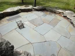 Dry Laid Flagstone Patio Oversized Natural Cleft Flagstone