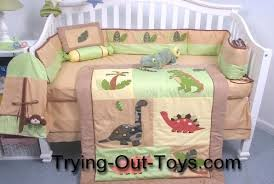 Toy Story Crib Bedding Dinosaur Crib Bedding Set For A Baby Nursery Trying Out Toys