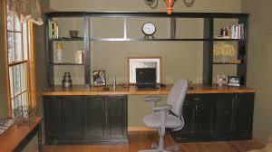 Built In Computer Desks Wall Units Marvellous Built In Wall Cabinets With Desk Built In