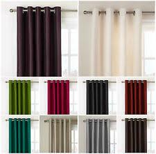 Short Drop Ready Made Curtains Curtains U0026 Blinds Ebay