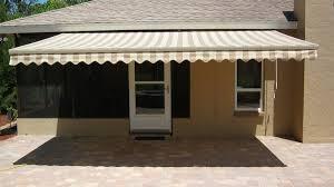 Retractable Awnings Tampa Motorized Sun Shade Sunbrella Retractable Awnings