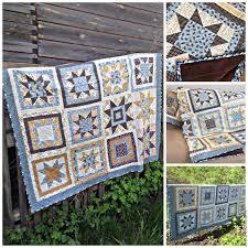 buy patchwork quilt northern star on livemaster online shop