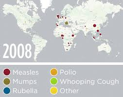 Usa Interactive Map Education In The Usa See The World Through by How Vaccine Fears Fueled The Resurgence Of Preventable Diseases