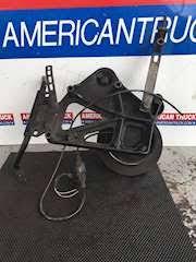 cummins n14 fan clutch solenoid used accessory mount bracket with fan clutch off a cummins n14 for a