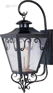 outdoor gas lantern wall light maxim lighting 39994cloi cordoba forged iron traditional outdoor gas