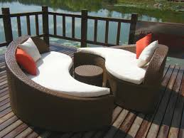 Curved Patio Sofa Photo Gallery Of Curved Outdoor Sofa Viewing 13 Of 25 Photos