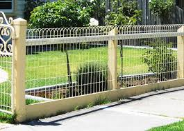 Garden Fence Types - fence designs by emu wire industries outdoor ideas pinterest