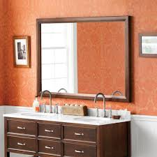 60 bathroom mirror 60 reuben solid transitional wood framed bathroom mirror