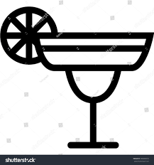 margarita clip art margarita icon stock vector 502620010 shutterstock