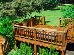 Backyard Deck Plans Pictures by Decks For Every Location Hgtv