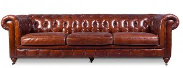 canapé cuir canapé 4 places cuir marron clair chesterfield lower lestendances fr