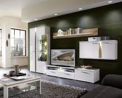 Wohnidee Wohnzimmer Modern Wohnwand Monty 351x207x47 Cm Weiß Eiche Schrankwand Wohnzimmer Led