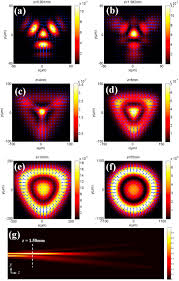 Traffic Light Order Propagation And Power Flow Of High Order Three Airy Beams