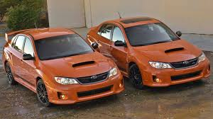 raised subaru impreza subaru impreza wrx and wrx sti special edition auto review