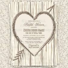 rustic bridal shower invitations winter wedding shower invitations zoolook me