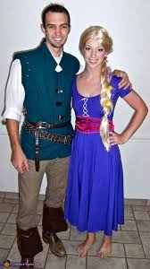 Tangled Halloween Costume Adults Rapunzel Flynn Rider Costume Idea Couples