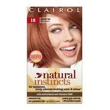 clairol instincts hair color 16 spiced tea light auburn