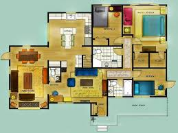 Color Floor Plan Foundation Dezin U0026 Decor Colorful Furniture Floor Layout