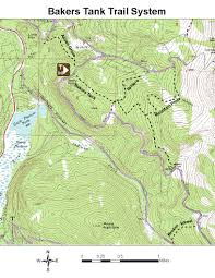 Colorado County Map by Oric Colorado Summit County Region Day Hiking Trails Index Page