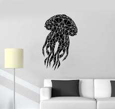 decal wall picture more detailed picture about art design marine art design marine animal jellyfish wall sticker home living room art decorative wall mural vinyl removable