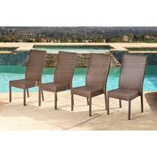 Outdoor Wicker Dining Chair Wicker Patio Dining Chairs For Less Overstock