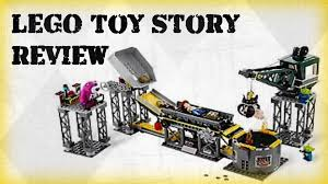 lego 2010 toy story 3 trash compactor escape 7596 youtube