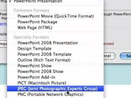 how to save a powerpoint file as png youtube