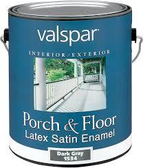 amazon com valspar 1534 porch and floor latex satin enamel 1