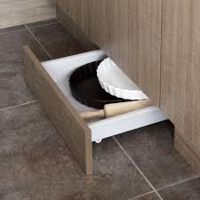 tiroir pour meuble de cuisine tiroir sous plinthe pour meuble l 60 cm delinia leroy merlin cuisine