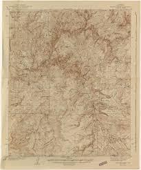 Map Of Mesa Az Arizona Historical Topographic Maps Perry Castañeda Map