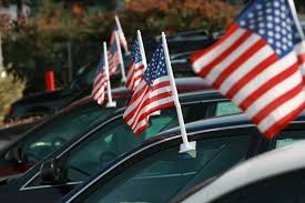Car Flag Americans Need More Time To Pay Off Their Cars Time