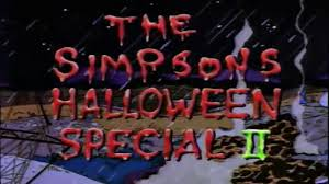top 15 simpsons treehouse of horror stories is there a collection