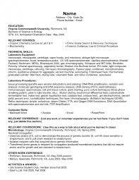 Resume Relevant Coursework Cover Letter Sample Of Skills For Resume Sample Summary Of Skills
