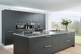 Kitchen Island Units Wooden Flooring Kitchen Island And Rear Wall Units Are Shown