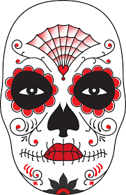 Day Of The Dead Mask Surface Fragments How To Make A Day Of The Dead Mask