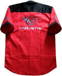 corvette racing jacket mscv7017 chevrolet chevy corvette team racing pit crew shirt car