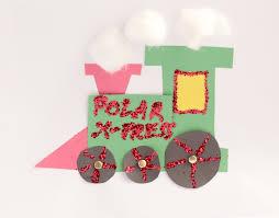 polar express craft for preschool or kindergarten