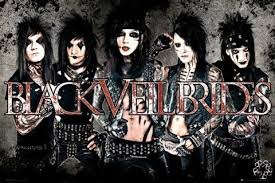 black veil black veil brides leather poster sold at europosters