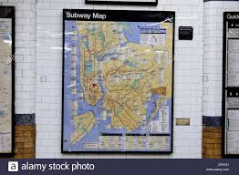 Nyc Subway Map Brooklyn by Nyc Subway Map Stock Photos U0026 Nyc Subway Map Stock Images Alamy
