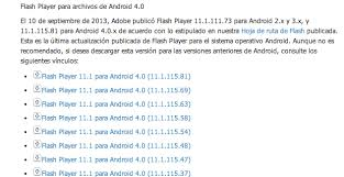 adobe flash player 11 1 for android flash player en android aprende como instalarlo