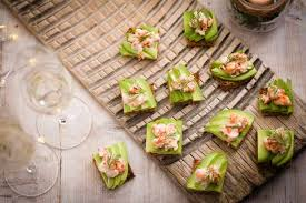 canapé cocktail easy food for year s olive magazine