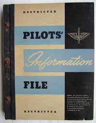 usaaf pilot u0027s information file in ww2 usaaf manuals