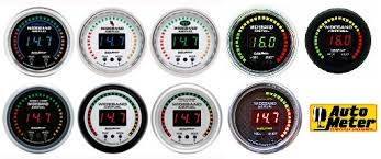 wide band dual single air fuel meters by fast auto meter u0026 sniper