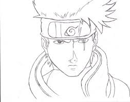 kakashi u0027s face sketch by silverthehedgehog524 on deviantart