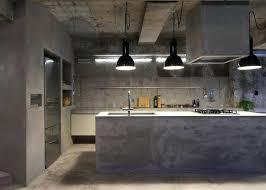 cuisine beton cire cuisine beton cire la cuisine cuisine blanche et beton cire