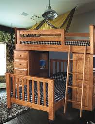 Best Bunk Beds Images On Pinterest  Beds Amish Furniture - Double loft bunk beds