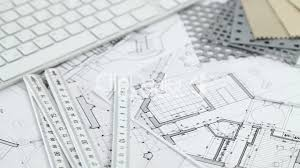 keyboard u0026 architectural plans royalty free video and stock footage